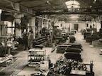 Blick in die Kurtz Maschinenfabrik 1954