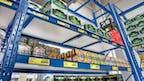 Regale für den Getränkehandel