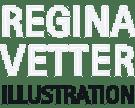 Logo von Regina Vetter Illustration
