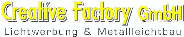 Logo von Creative Factory GmbH