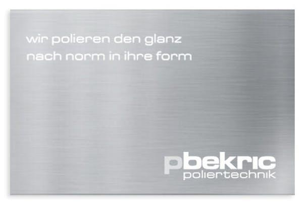 Logo von Bekric Poliertechnik