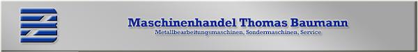 Logo von Maschinenhandel Thomas Baumann