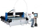 CNC 3-Achs Wasserstrahl