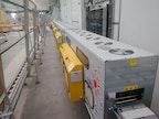 IR-Strom Tunneltrockner für Längsware