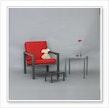 Möbel aus Edelstahl,