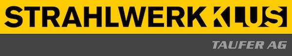 Logo von TAUFER AG - STRAHLWERK KLUS