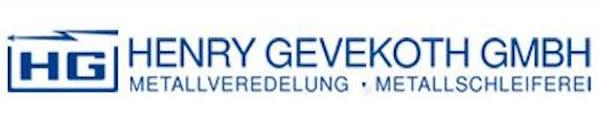 Logo von Henry Gevekoth GmbH
