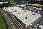 Fabrik aus der Luft