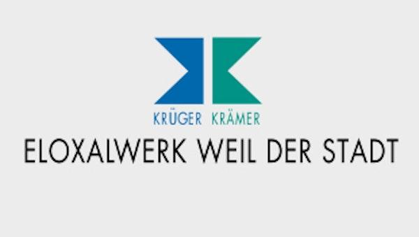Logo von Eloxalwerk Weil der Stadt - Krüger Krämer GmbH & Co. KG