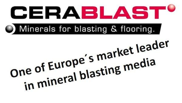 Logo von Cerablast GmbH & Co.KG Mineralische Strahlmittel