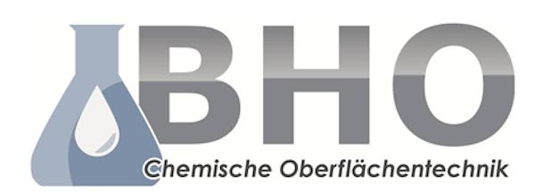 Logo von BHO Chemische Oberflächentechnik GmbH