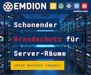 Schonender Brandschutz für Server-Räume