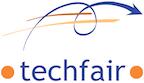 Logo von techfair | technology transfair management