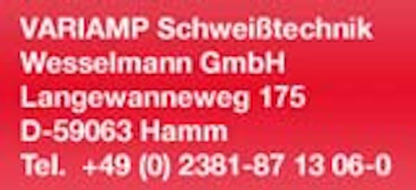 Logo von Variamp Schweißtechnik Wesselmann GmbH