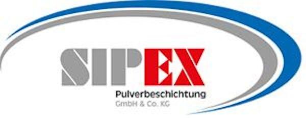 Logo von SIPEX GmbH & Co. KG Pulverbeschichtung Kai Weyck & Sascha Bitterlich