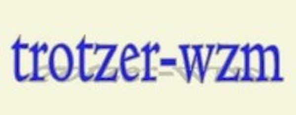 Logo von TROTZER - Werkzeugmaschinen