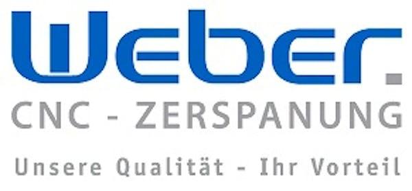 Logo von Weber CNC-Zerspanung GmbH + Co. KG.