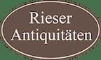 Logo von Rieser Antiquitäten