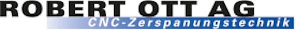 Logo von Robert Ott AG, CNC-Zerspanungstechnik