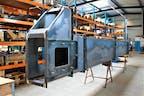 Maschinenbauteil Länge 10 m, 4200kg
