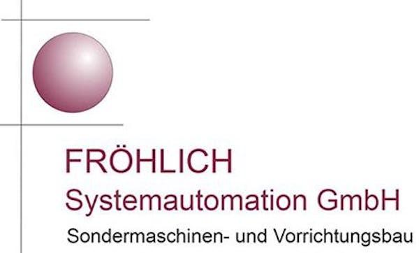 Logo von FRÖHLICH Systemautomation GmbH Sondermaschinen- u. Vorrichtungsbau