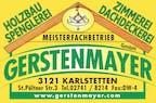 Logo von Holzbau Gerstenmayer GmbH