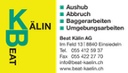 Logo von Beat Kälin AG