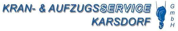 Logo von Kran- & Aufzugsservice GmbH