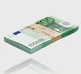 Euroscheine kantenschonend gebündelt