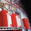 CO2-Brandbekämpfungssystem