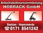 Logo von Hobrack Arbeitsbühnenvermietung GmbH