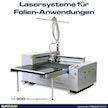 Lasersystem für Folien