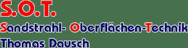 Logo von S.O.T. Sandstrahl- Oberfläche-Technik Thomas Dausch