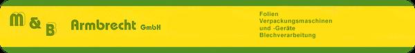 Logo von M & B  Armbrecht GmbH
