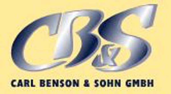 Logo von Carl Benson & Sohn GmbH