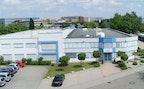Firmengebäude Klingel medical metal