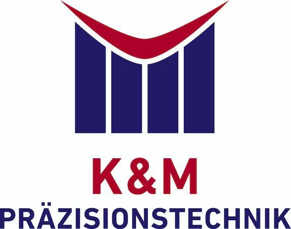 Logo von K+M Präzisionstechnik in Kunststoff und Metall GmbH
