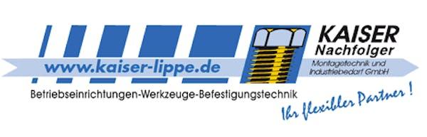 Logo von Kaiser Nachfolger Montagetechnik und Industriebedarf GmbH