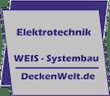 Logo von Patrick Weis - Weis Systembau - DeckenWelt.de