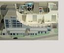 Modell Weltraum Testzentr