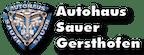 Logo von Autohaus Sauer Gersthofen GmbH
