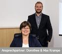 Geschäftsführer Dorothee & Max Krampe