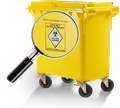 Krankenhausabfallbehälter 240-360 Liter