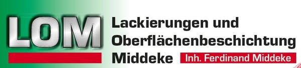 Logo von LOM Lackierungen & Oberflächentechnik Middeke