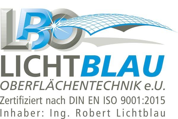 Logo von LICHTBLAU OBERFLÄCHENTECHNIK e.U.