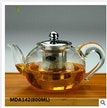 800ml glass teapot