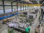 Produktionshalle Innen
