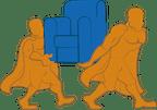 Logo von Helden Umzüge