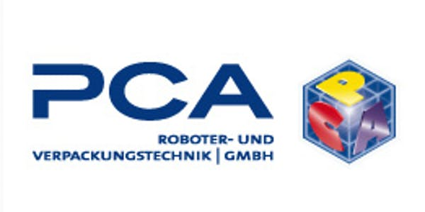 Logo von PCA Roboter- und Verpackungstechnik GmbH