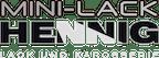 Logo von MINI-LACK HENNIG · LACK UND KAROSSERIE - Frank & Uwe Hennig GbR
